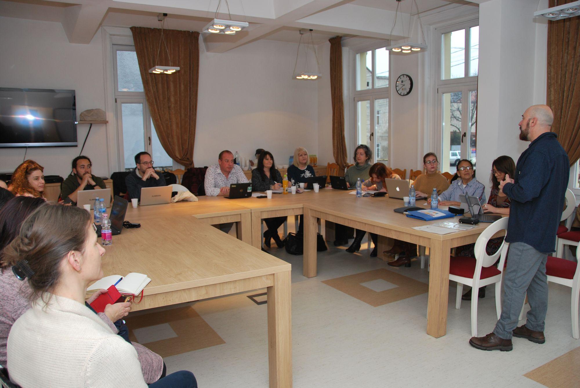 Segunda reunión del proyecto Credible